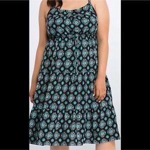 Torrid Tiered Midi Dress!!